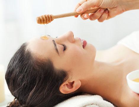 trattamenti per il viso di acido januronico più 5 maschere al miele e zucca