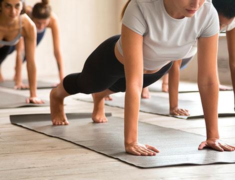 tra Power Yoga e Pilates