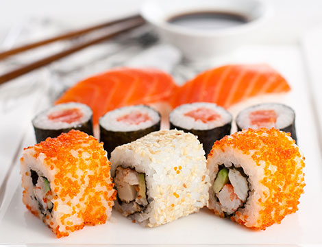 All you can sushi in Repubblica