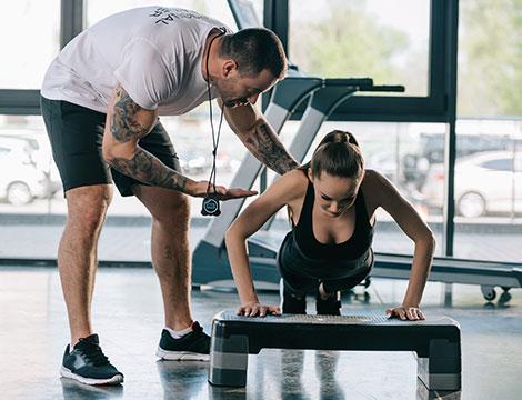 5 o 10 sedute di allenamento con personal traine