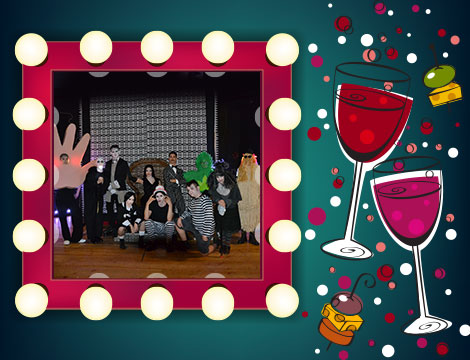 Apericena e Spettacolo teatrale Wednesday's family Musical