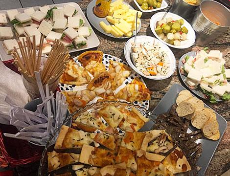 Aperitivo con buffet per 2 o 4 persone
