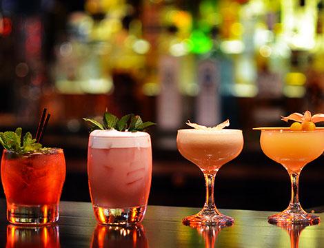 Aperitivo con cocktail Portuense