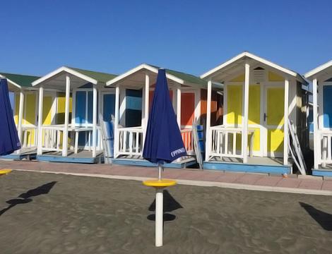 Peppino a Mare beach ingresso in spiaggiaLido di Ostia