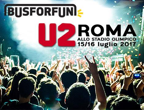 Biglietti Bus concerto U2