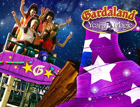 Gardaland Park anno della magia 2019