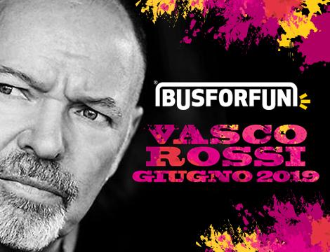 Biglietti Bus concerto Vasco Rossi