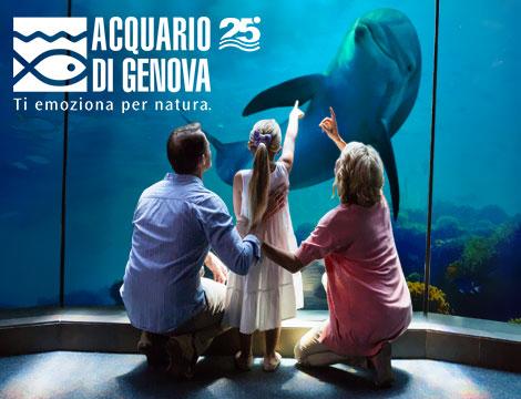 Acquario di Genova pacchetto Family_N