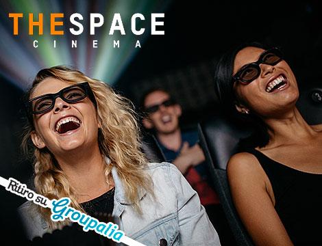 Biglietto The Space 2D e 3D
