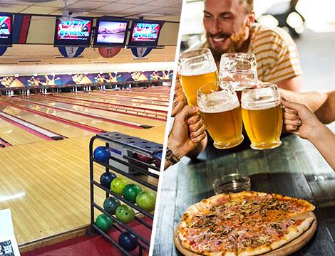 Bowling Roma apericena o pizza e partita omaggio