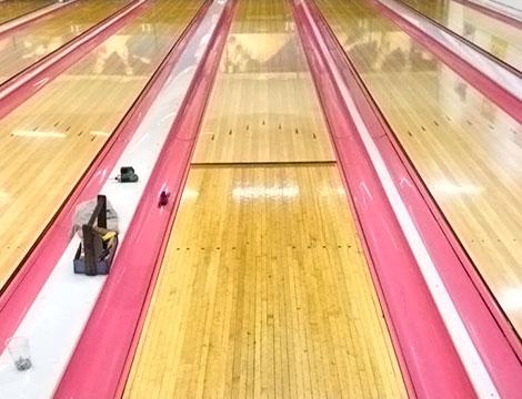 Bowling Roma dettaglio pista