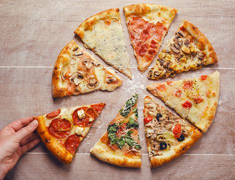 Bowling Roma pizza