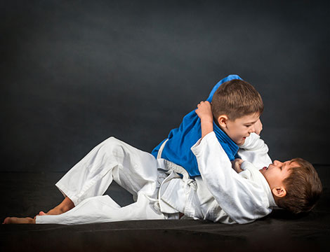 Corso mensile di brazilian jiu-jitsu per bambini