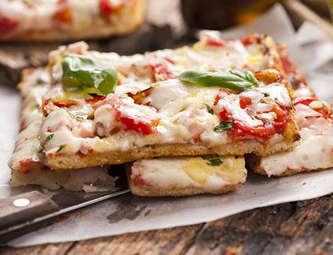 Bufolificio in centro menu pizza o panino
