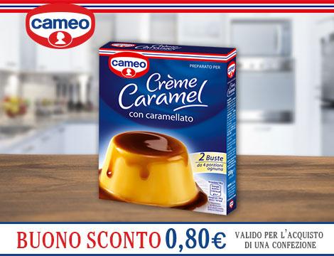 Buono sconto Creme Caramel