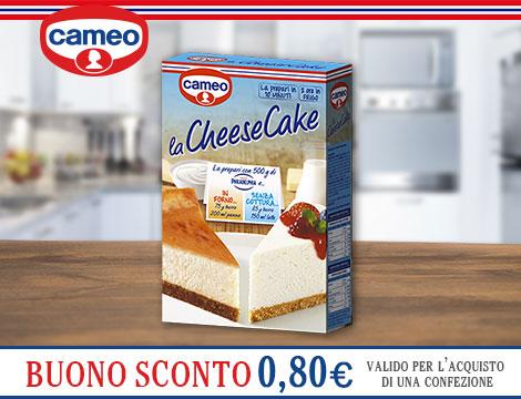 Buono sconto cheesecake