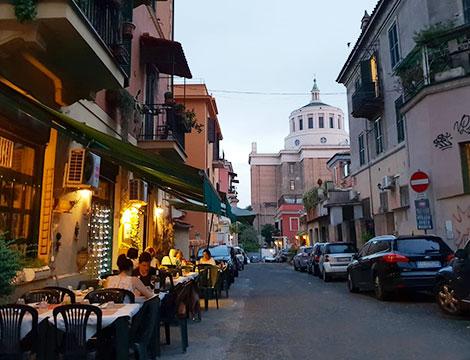 Ristorante Burro e Sugo Roma esterno locale