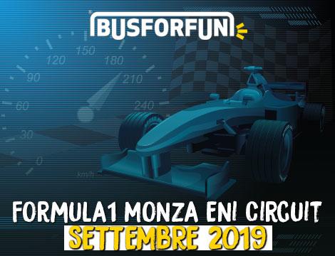 Bus  Formula 1 Monza Eni Circuit