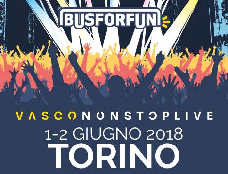 Bus a/r Vasco Rossi Torino_N