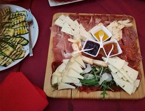 CIBARE menu romano di carne