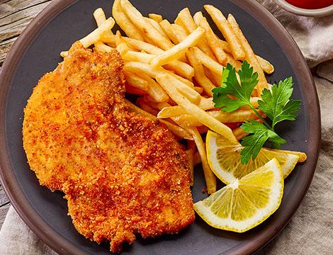 Menu di carne 4 portate con gnocco fritto
