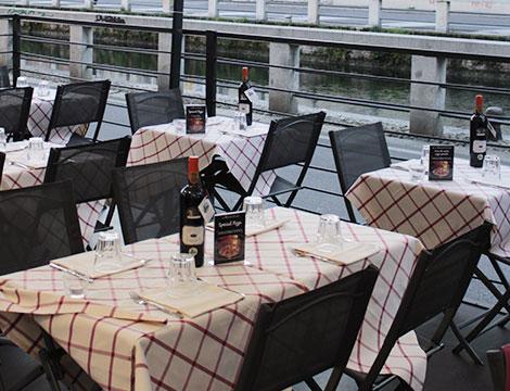 Cena romantica alla carta x2 sui Navigli