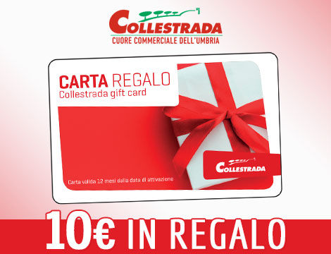 gift Card Centro commerciale Collestrada_N