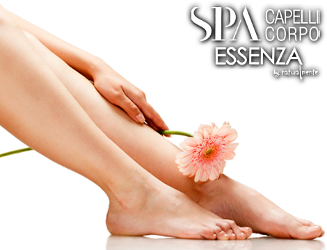 Ceretta completa e pedicure