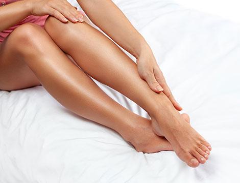 Una ceretta gamba intera e inguine