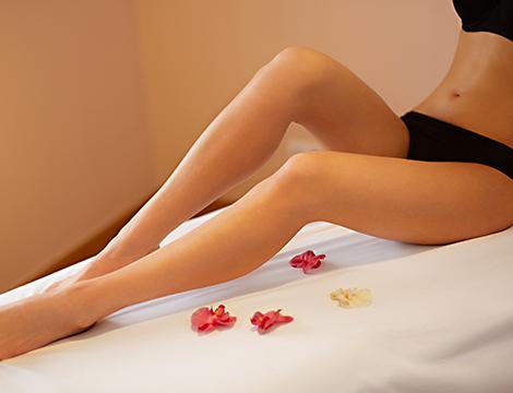 Ceretta gambe e inguine totale