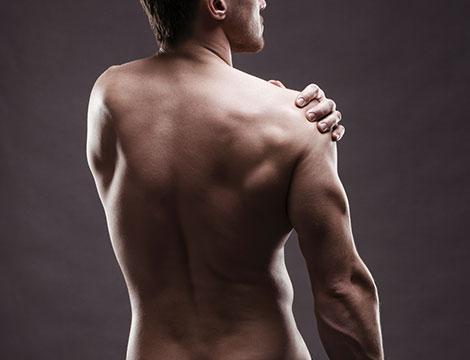 ceretta schiena e spalle uomo
