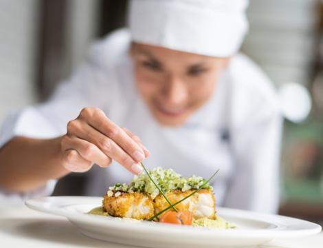 Chef a domicilio per cena o pranzo con menu a scelta