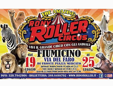 Circo Rony Roller Fiumicino