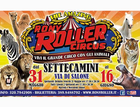 Circo Rony Roller biglietti Roma Settecamini
