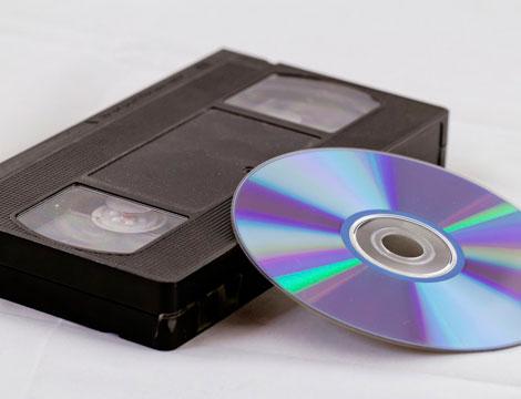 da vhs a a dvd
