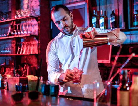 Corso di 8 o 12 ore a scelta tra barman