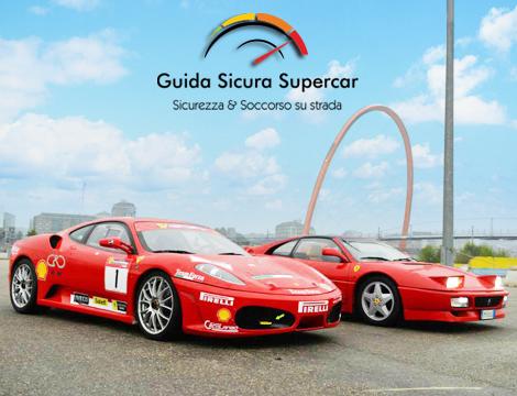 Corso base di guida sicura in Ferrari