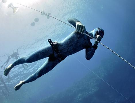 Corso di apnea per apneisti e pescatori subacquei per una persona