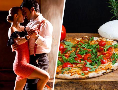 Corso di ballo con evento e giro pizza