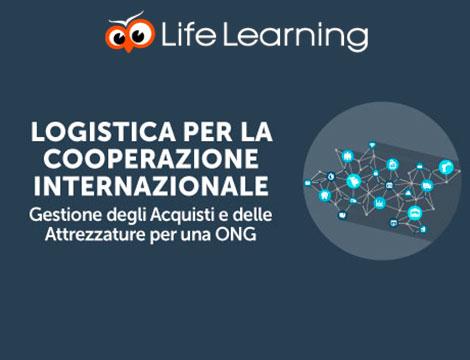 Corso online logistica per cooperazione internazionale