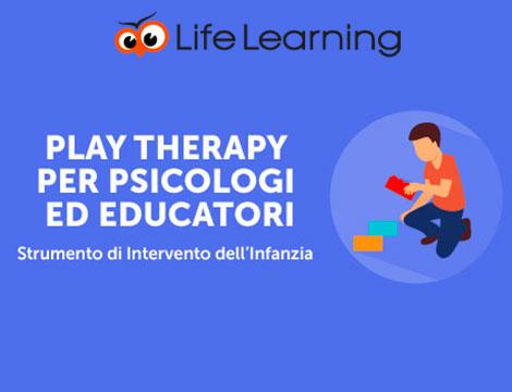 Corso play therapy online per psicologi ed educatori