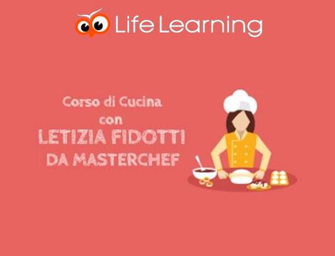 Cucina con Letizia Fidotti da Masterchef