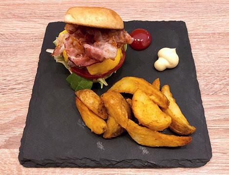 Menu hamburger x2 Bocconi_N