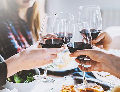 Degustazione vini e mini buffet