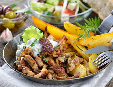 El Pollo Gordo: menu peruviano d'asporto x2