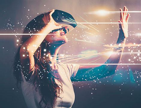 Esperienza di gioco in realtà virtuale