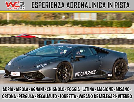 Esperienza di guida Lamborghini Huracàn