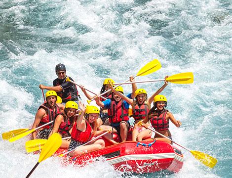 esperienza di rafting a Stiera