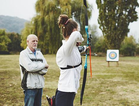 Esperienza di tiro con l'arco