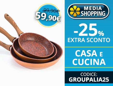 Extra Sconto Su Mediashopping It Per L Acquisto Dei Prodotti